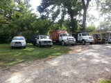 Su-Tree Service Fleet of Trucks
